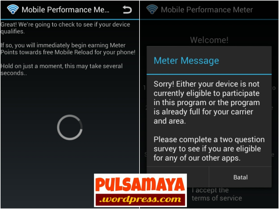 mobile performance meter